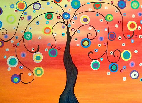 Fiesta Tree by Carla MacDiarmid