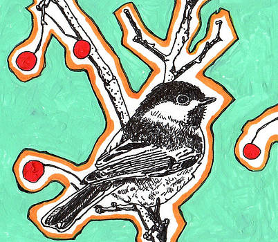 Fifties Cheeky Chickadee by Julia Forsyth