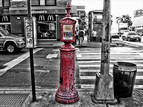 Fire Call Box by Bennie Reynolds
