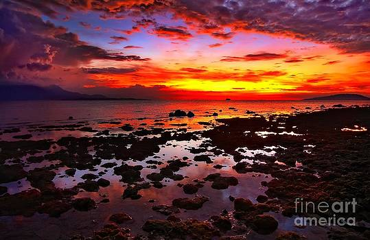 Fire in the Sky by Jojie Alcantara