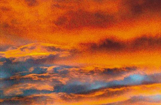 Fire in the sky by Marcia Aitchison