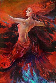 Fire by Nelya Shenklyarska