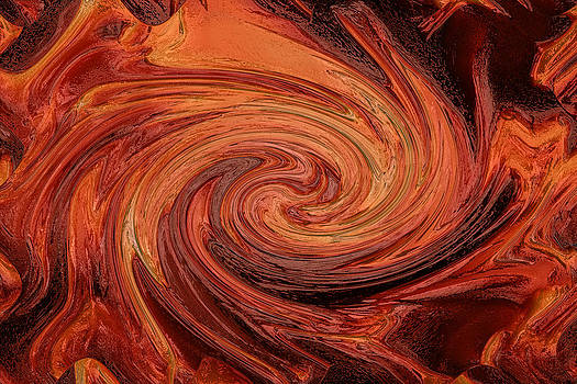 Fire Swirl by Kavitha