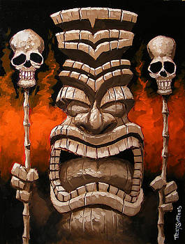 Fire Tiki by Trey Surtees