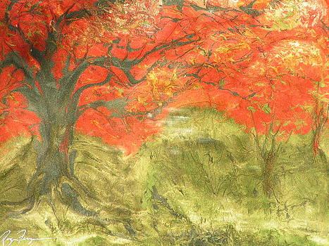 Fire Tree by Roger Ferguson