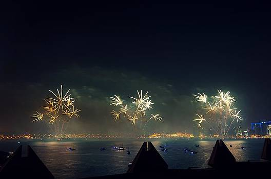 Fire works by Abraham PuthOor