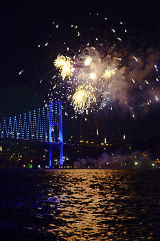 Kantilal Patel - Firework delight on Bosphorus