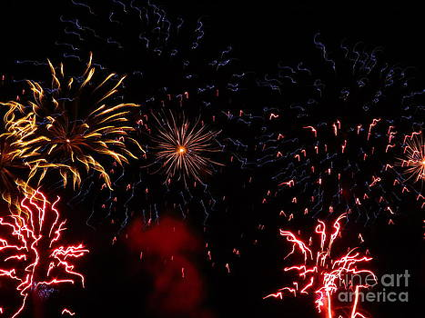 Fireworks at Oshkosh Airventure 2012. 01 by Ausra Huntington nee Paulauskaite