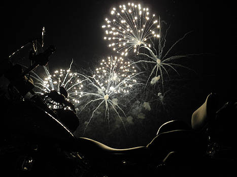 Fireworks over a Soft Tail by Tobey Brinkmann