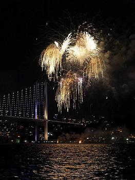 Kantilal Patel - Fireworks over Bosphorus
