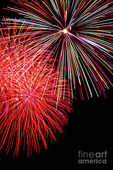 Fireworks Up and Close by Archana Doddi