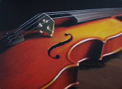 Firey Fiddle by Kathie Papasso