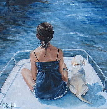 First Boat Ride by Patricia DeHart
