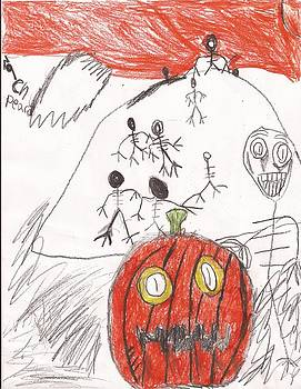 First Halloween Picture by Zachary Peace