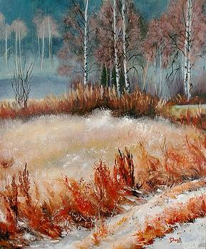 First Snow by Mona Davis
