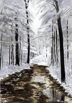 First Snow by Paul Gardner