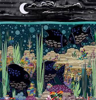 Fish and Sky Love by Dede Shamel Davalos