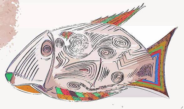 Fish by Max Shkoropado