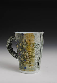 Fish Mug  by Mark Chuck