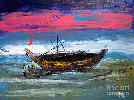 Fisherman Life by Aung Min Min