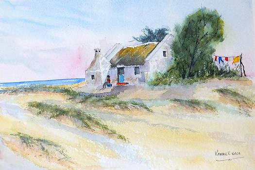 Fisherman's Sunday Morning Doze by Harold Kimmel