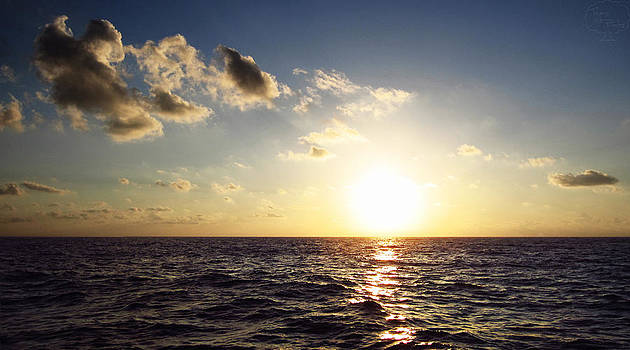 Fisherman's Sunrise by Tejas Prints