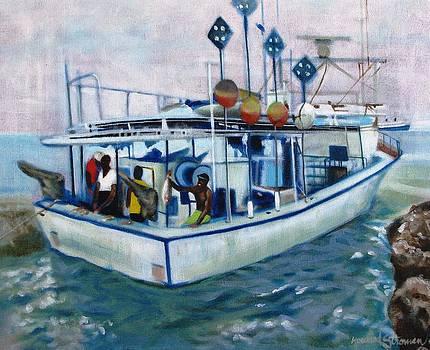 Fishermen by Howard Stroman
