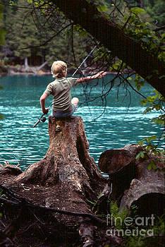 Fishin by Joseph   Geswaldo