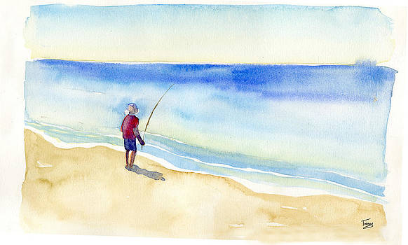Catherine Twomey - Fishing Alone
