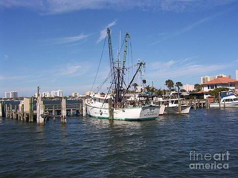 Fishing Boat by Sandy Owens