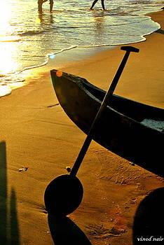 Fishing Boat by Vinod Nair