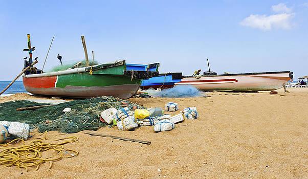 Kantilal Patel - Fishing Boats Goa