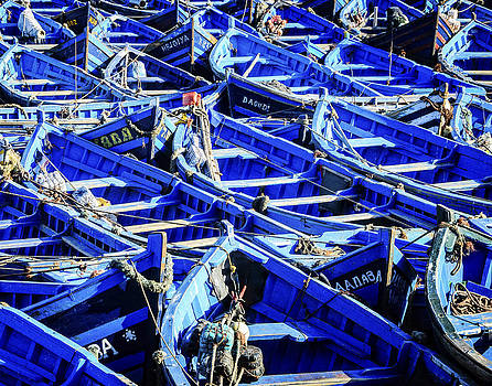 Fishing Boats by Marion McCristall