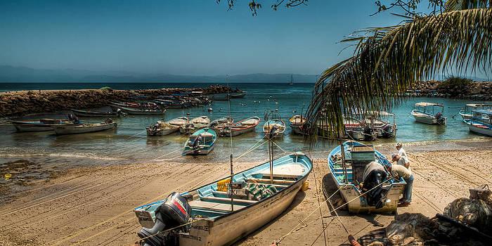 R J Ruppenthal - Fishing Boats Punta Mita Mexico