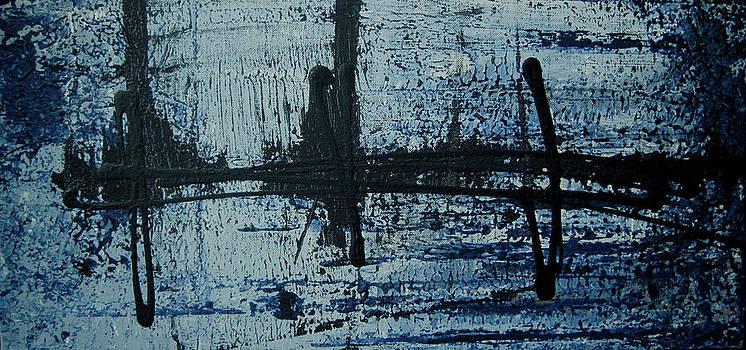 Fishing Bridge by Diane Clement