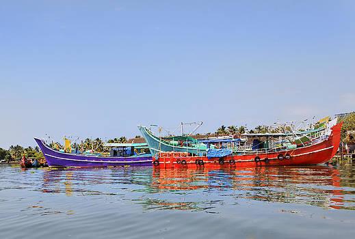 Kantilal Patel - Fishing Colors