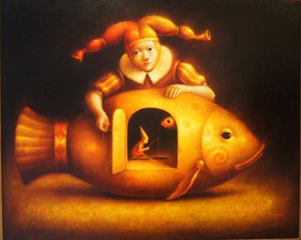 Fishing by Leo Twikler