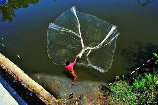 Fishing Net by Vinod Nair