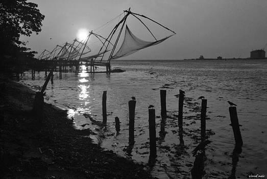 Fishing Nets  by Vinod Nair