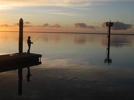 Fisherman by Robert Walker