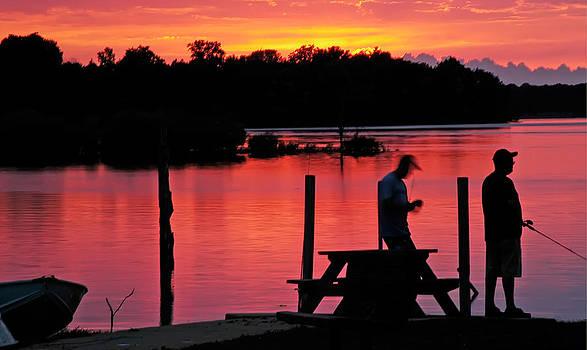 Randall Branham - Fishing Summit Lake Henry County