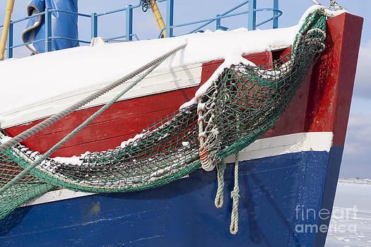 Heiko Koehrer-Wagner - Fishing Vessel in Winter