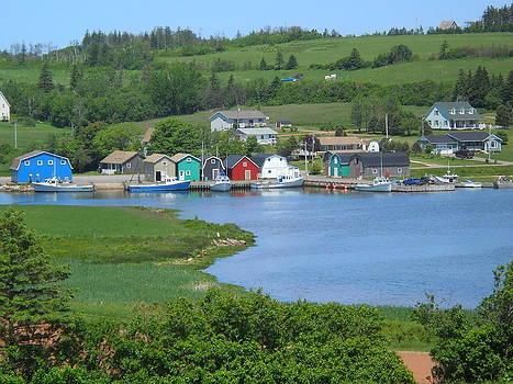 Fishing Village by Jeff Moose