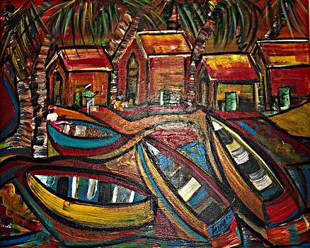 Fishing Village by Laura Fatta