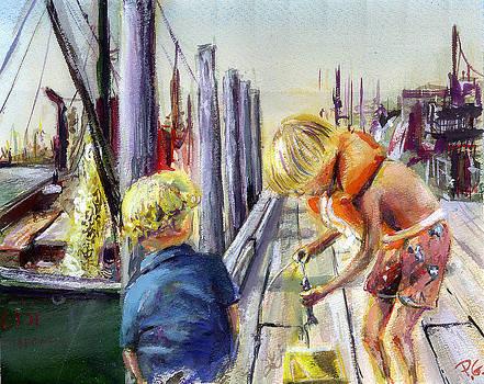 Fishn Dock by Paul Gardner