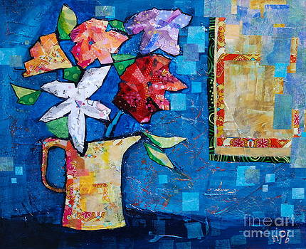 Five Flowers by Nancy Bowron