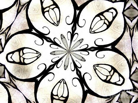 Five Petal Abstract by Shana Blake