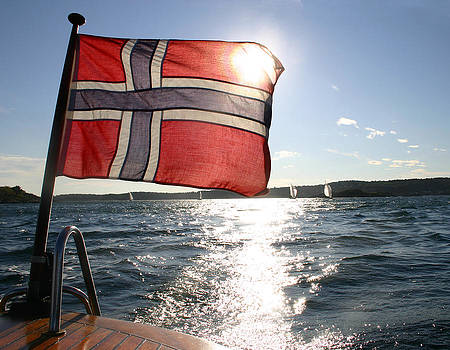 Nina Fosdick - Flag of Norway