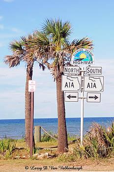 Flagler Beach Florida by Larry Van Valkenburgh