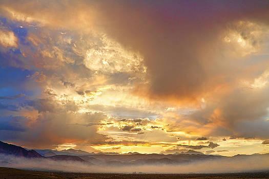 James BO  Insogna - Flagstaff Fire Sky Boulder Colorado